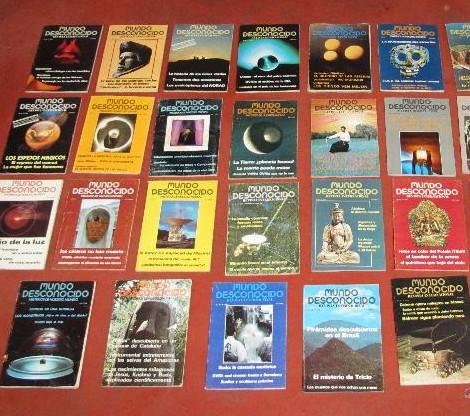 Revistas Mundo Deconocido N° 20, 21 y 22