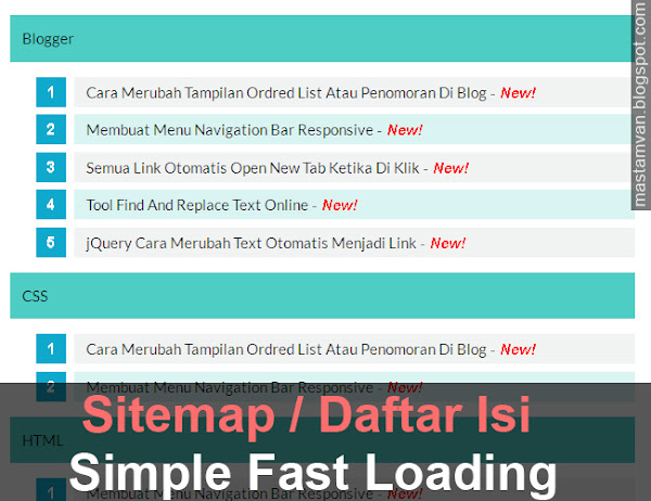 sitemap_daftar_isi_blog_seo_fast_loading