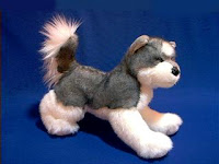 Siberian Husky Plush Stuffed Animal Sasha Douglas Toys