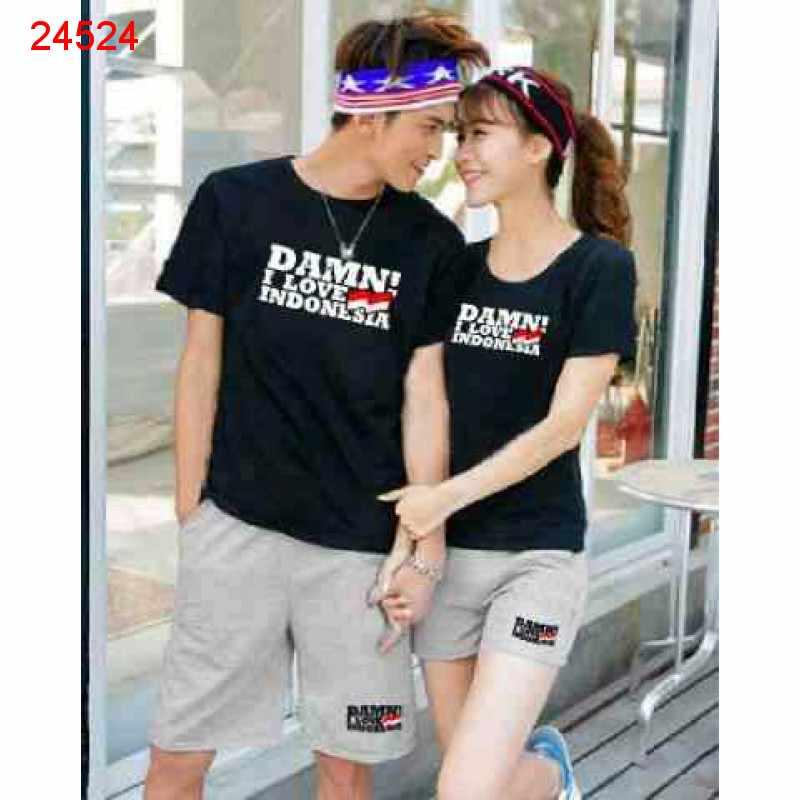 CS Damn I Love Indonesia Black Misty - 24524, toko baju kita