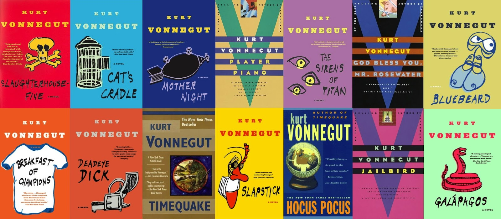 ranking kurt vonnegut s 14 novels ranks for nothing kurt vonnegut was one of the most essential writers of the latter half of the twentieth century and i recently completed all fourteen of the novels he