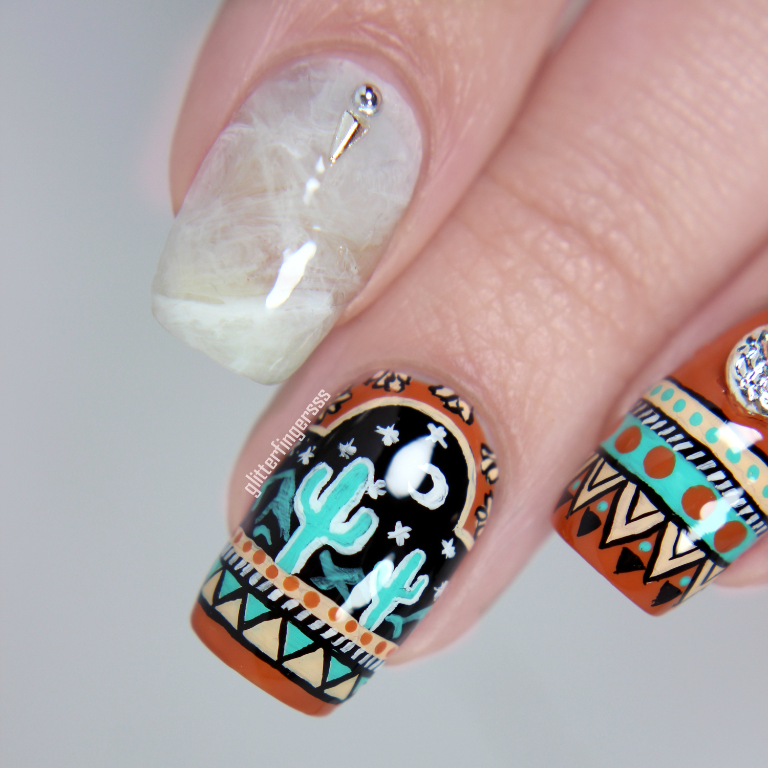 Mexican Crystals Tutorial Glitterfingersss In English I Wasnt Going To Make A For The