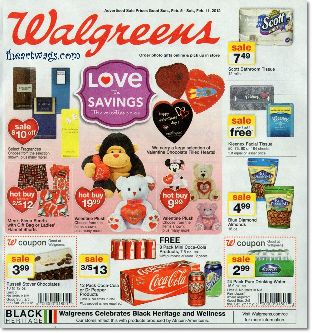 Walgreens Ad Preview 02/05/12 – 02/11/12