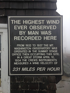 The Mt. Washington Observatory in New Hampshire