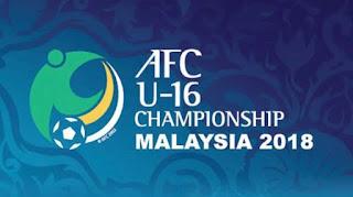 Jadwal Timnas Indonesia U-16 di Piala Asia U-16 2018 Malaysia
