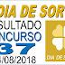 Resultado do Dia de Sorte concurso 37 (14/08/2018)