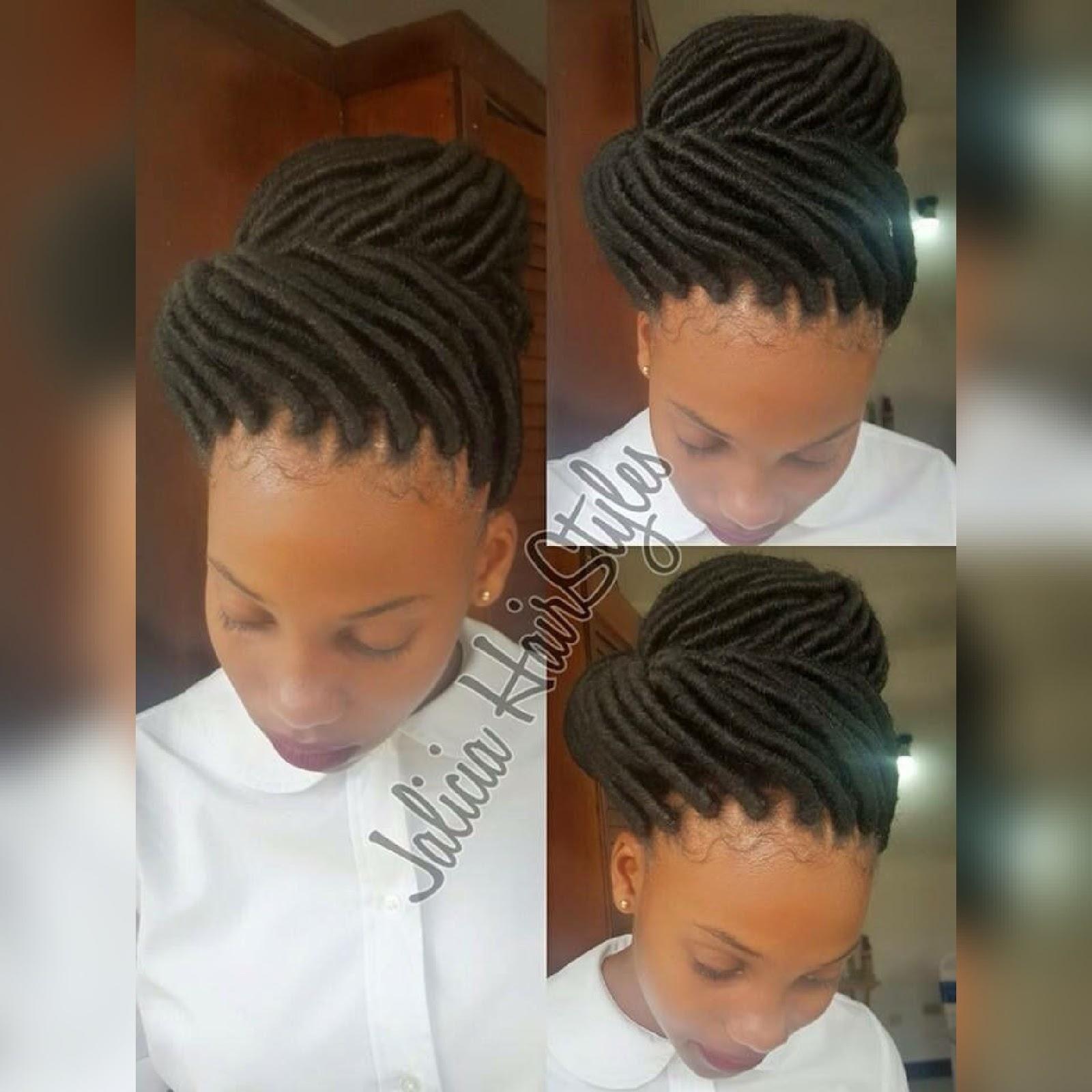 Rasta Braids Hairstyles: FAUX LOCS Braids Ideas
