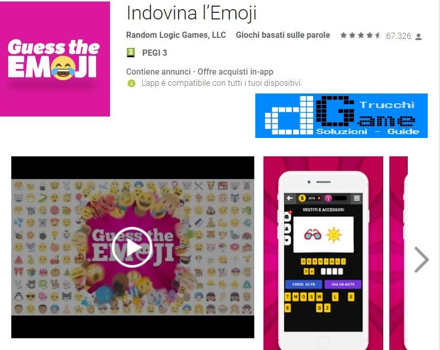 Soluzioni Indovina l'Emoji | Tutti i livelli risolti con screenshot soluzione
