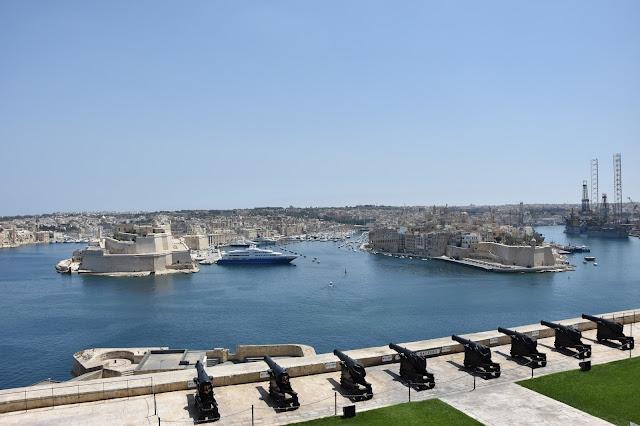 Valetta Seafront, Malta