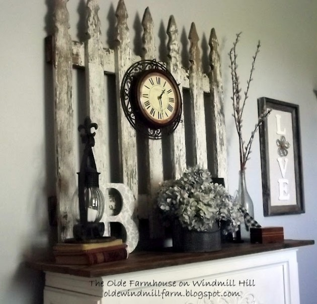 Vintage Home Decorations: Do It Yourself Ideas And Projects
