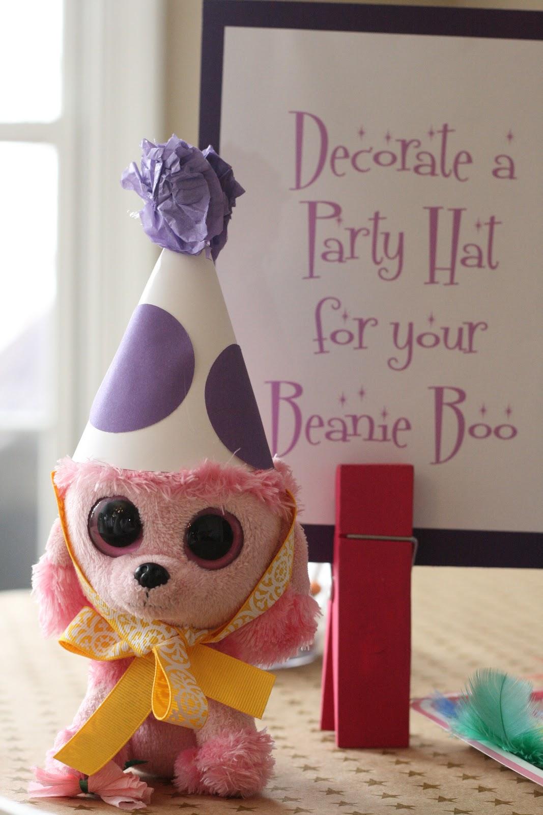 Monograms  n Mud  Belle s Pink   Purple Beanie Boo Birthday 63ad9e5a564