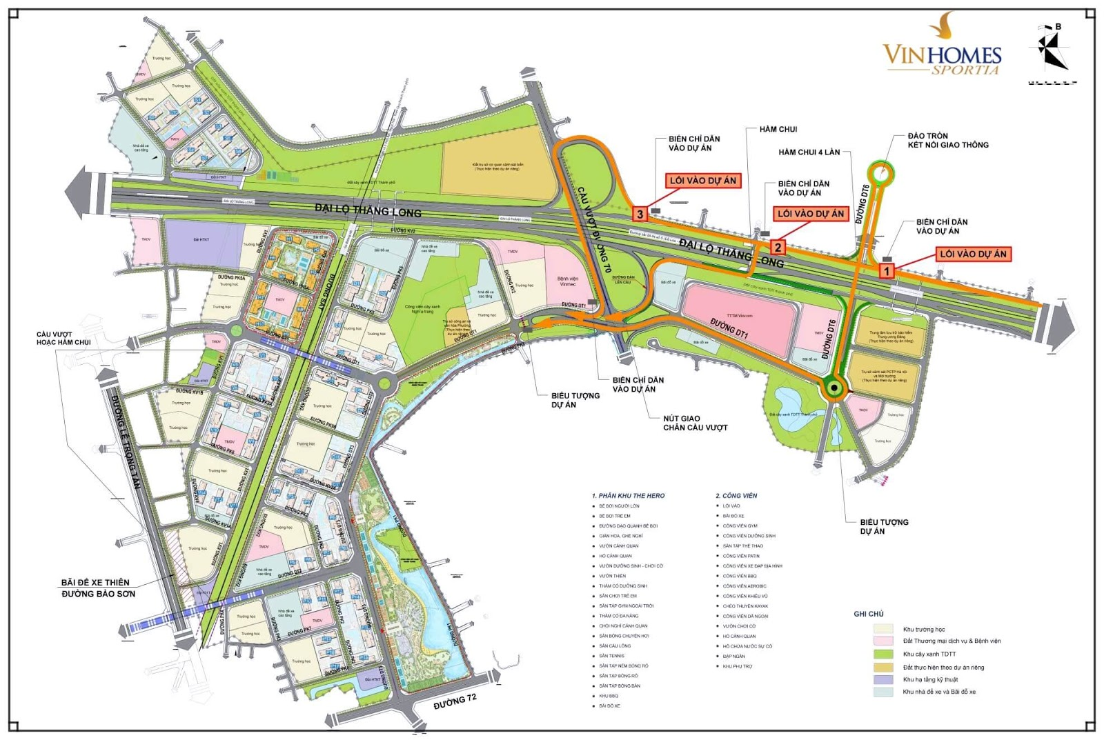 Quy hoạch tổng thể dự án Vinhomes Tây Mỗ