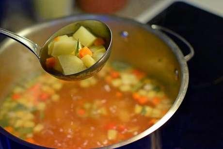 dieta da sopa para perder peso em uma semana