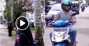 Astagfirullah, Pria Ini Berteriak 'Teroris' pada Muslimah Bercadar, Ini Dosa Besar Jika Menghina Muslimah Bercadar