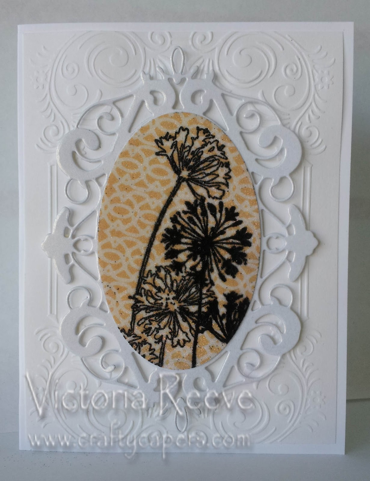Crafty Capers Rubber Stamps Glitter Demo This Saturday