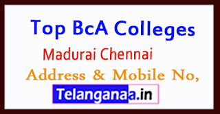 Top BCA Colleges in Madurai Chennai