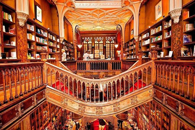 Livraria Lello em Porto