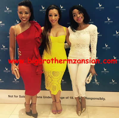 Mbali Nkosi Shines At Ayanda Movie Premiere