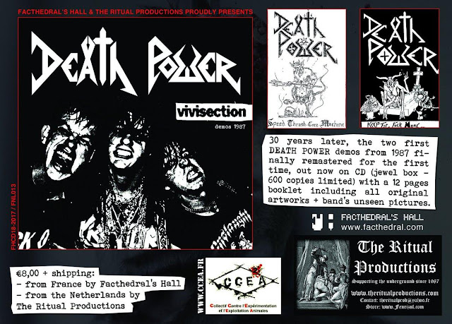 death power vivisection speed thrash metal