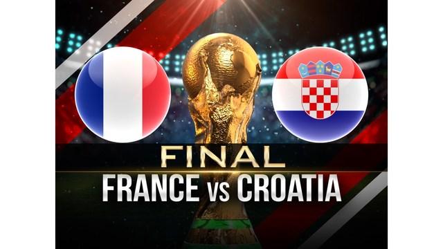 World cup final - France vs Croatia