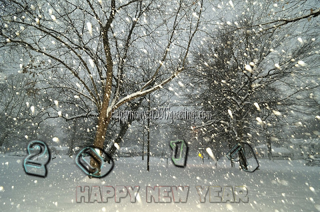 Happy New Year 2017 ICE Falling Wallpapers Download HD