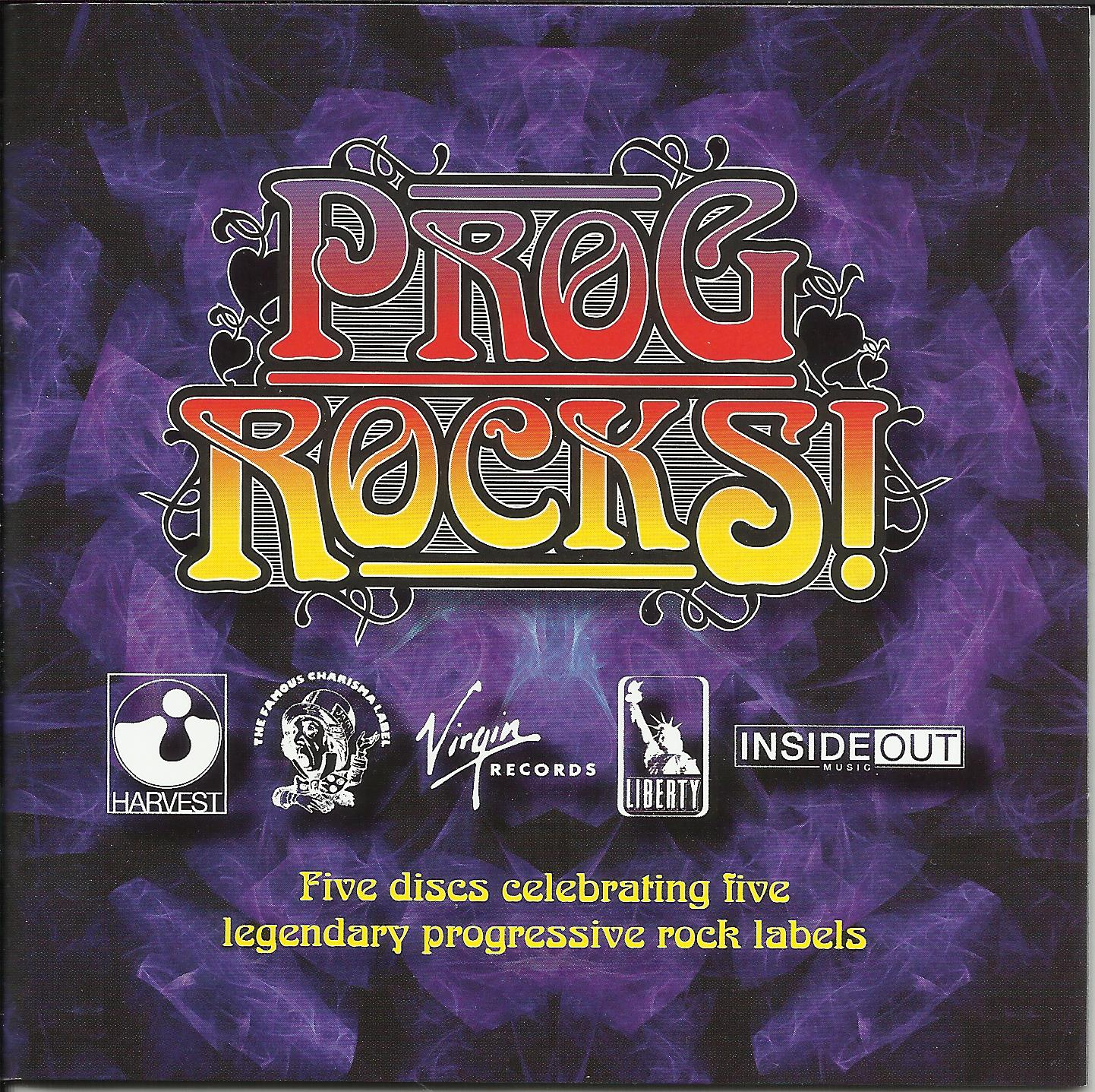 Prog Rocks! - Celebrating Five Legendary Rock Labels (CD 1 ...