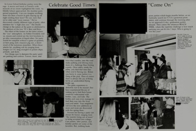 Kavanaugh accuser Blasey Ford's high school yearbooks scrubbed of info about wild sex parties, drunken blackouts, and more