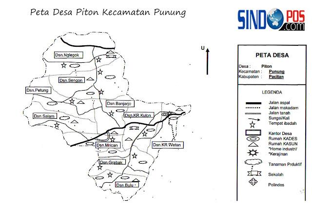 Desa Piton Kecamatan Punung Kabupaten Pacitan