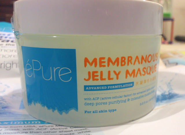 epure, membranous jelly masque