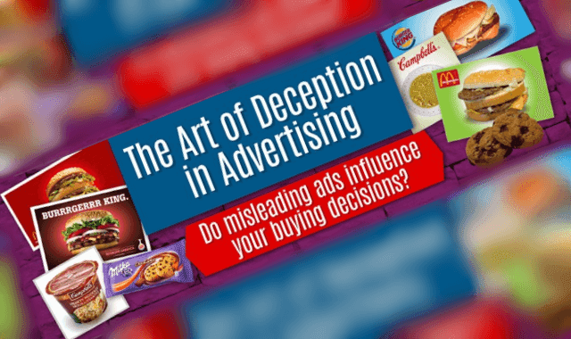 The Art of Deceptive Advertising