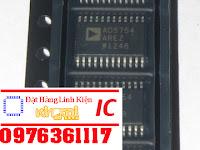 IC AD5754 chuyển đổi tín hiệu DAC 16 bit