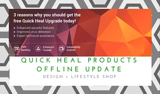 Quick Heal products offline update