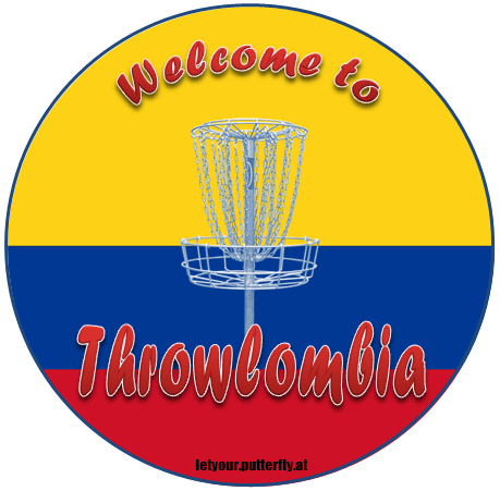 Disc Golf Throwlombia