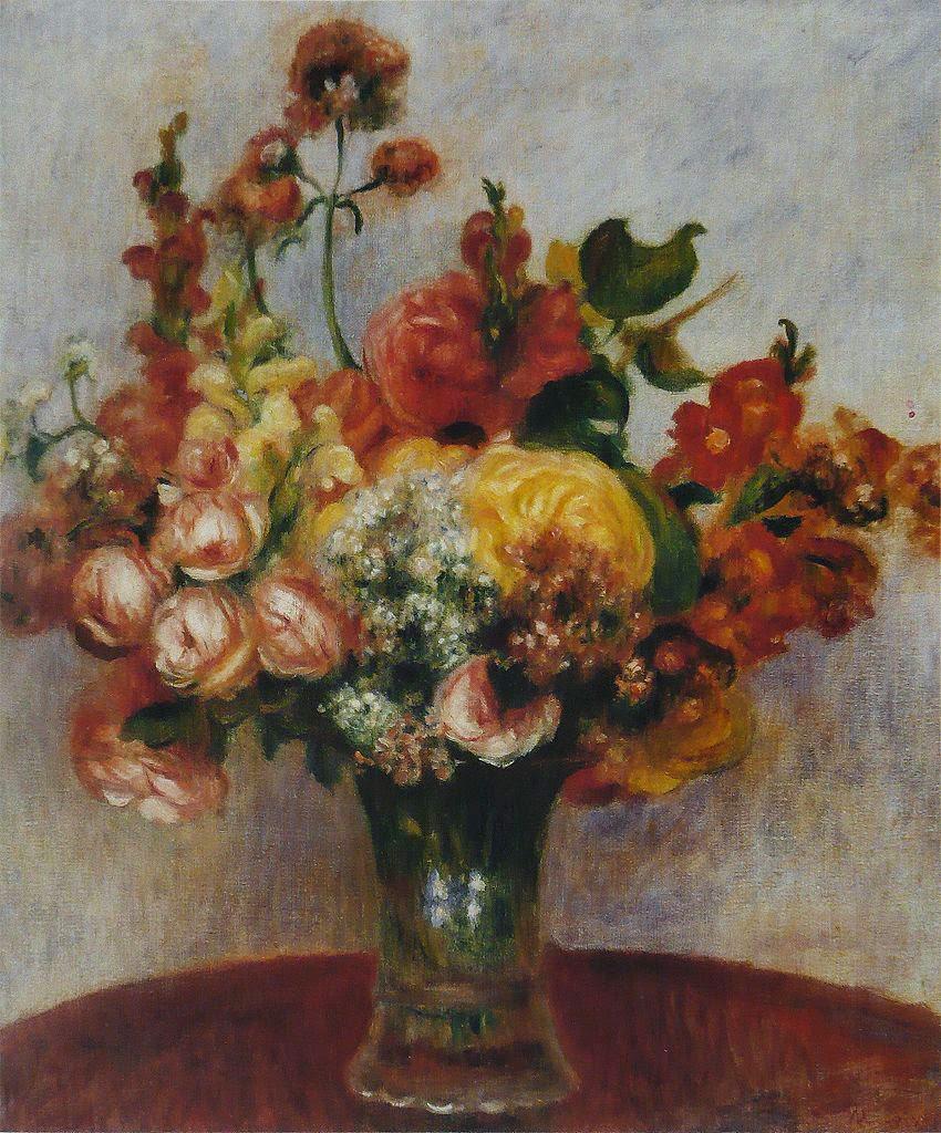 Paintings Of Spring Florile Lui Pierre Auguste Renoir 25
