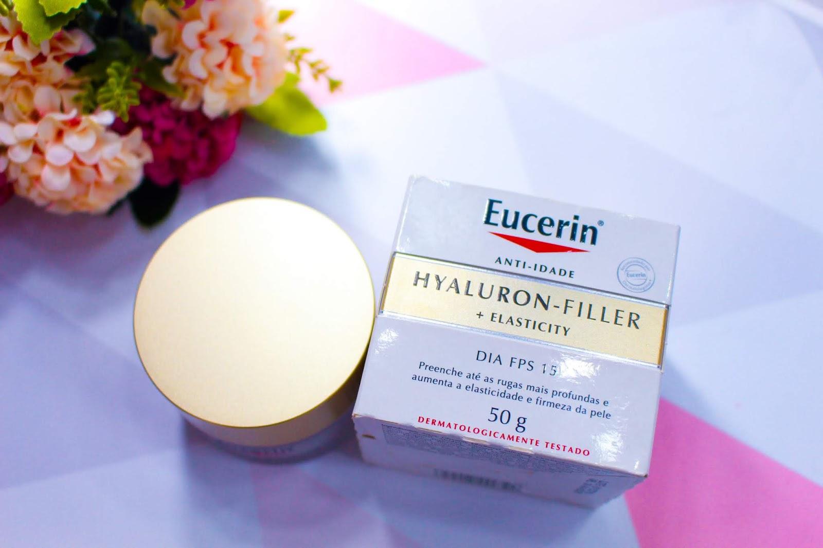 Resenha: Anti-Idade Hyaluron Filler + Elasticity Dia da Eucerin