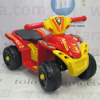 Motor Mainan Aki Tajimaku ATV Blue