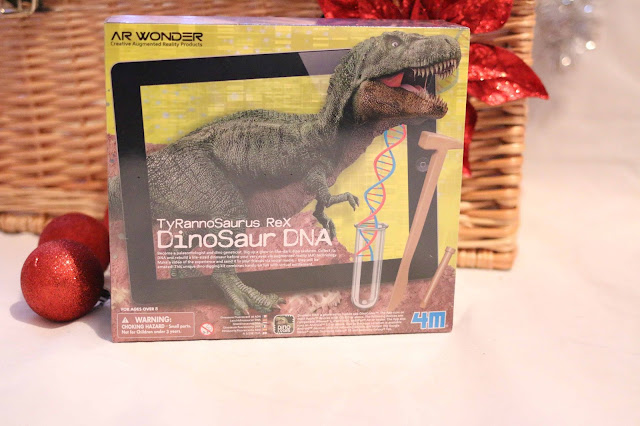 DinoSaur DNA kit TyRannoSaurus Rex - excavate and re-create with augmented reality - make your own life size dinosaur