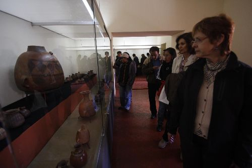 Temporary exhibition of Machu Picchu pieces opened in Cusco's Casa Concha