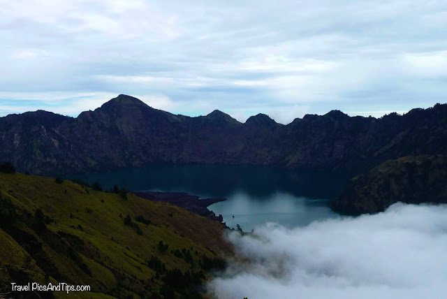 Lake, Trekking mount Rinjani Indonesia