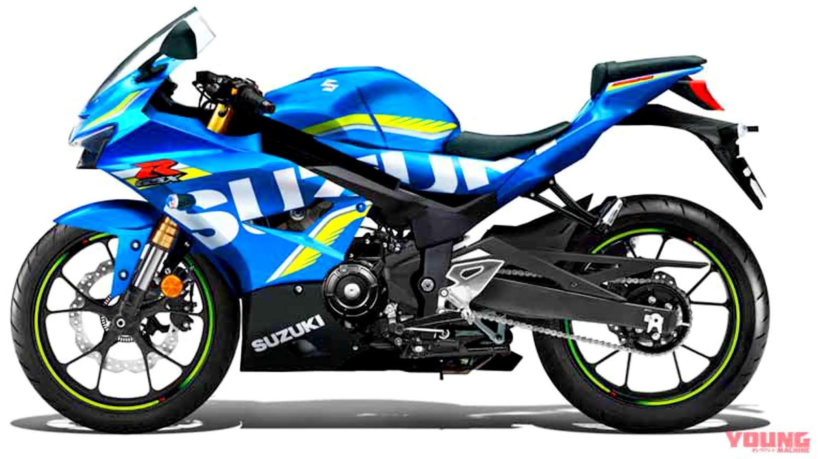 Young Machine rilis perkiraan bentuk dari New Suzuki GSX 250R, Honda dan Yamaha harus wasapada !
