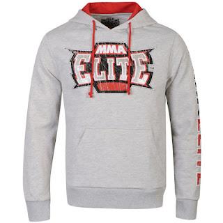 MMA Elite Men's Battle Hoody - Grey