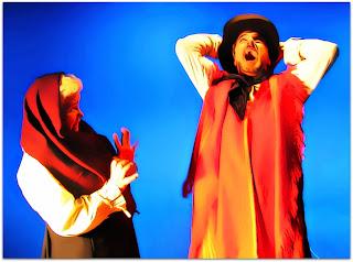 Nydia Gutierrez e Werner Schünemann, em 'O Gritador' (2006)