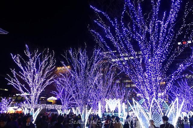 JR Hakata City聖誕燈飾