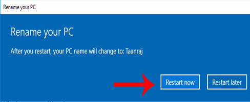 windows computer name ko rename kaise kare