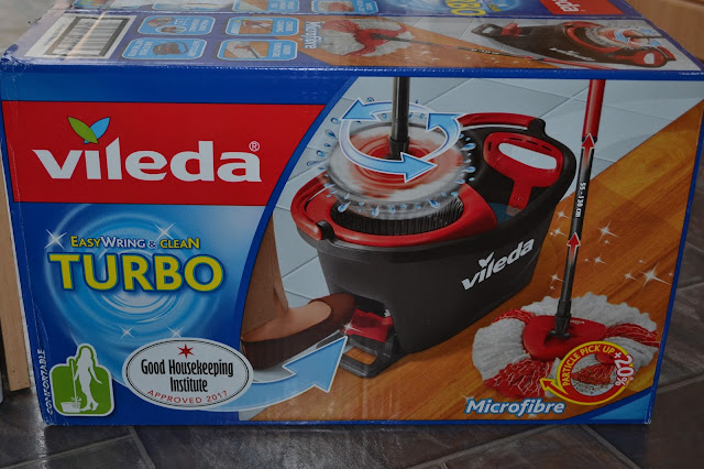 My Monkeys Don T Sit Still Vileda Easy Wring Clean Turbo Review