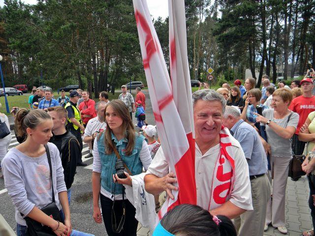 kadra, Polska, mistrzowie, flagi, lotnisko