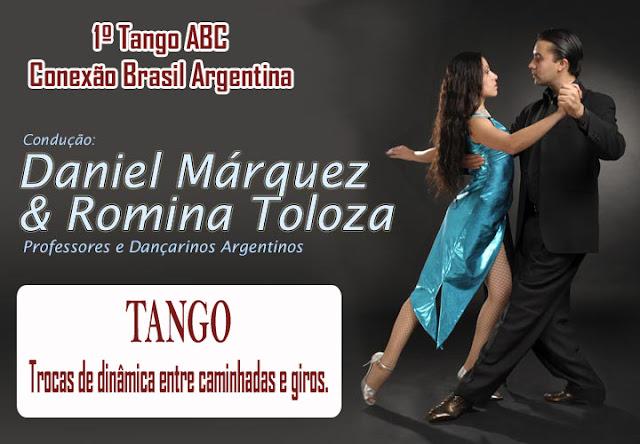 Romina Toloza e Daniel Marquez. 1º Tango Abc