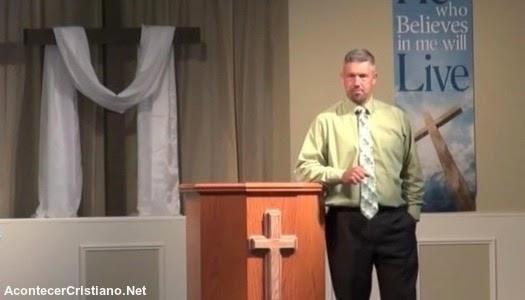 Pastor golpea a joven por no tomar en serio a Dios