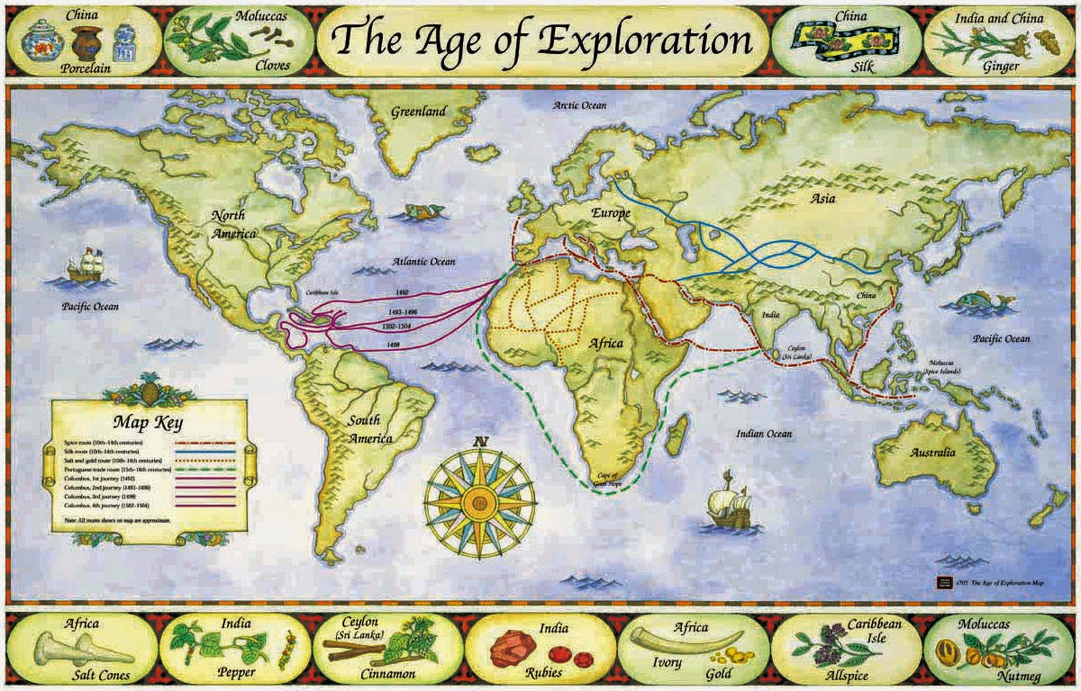 The World Made New Why The Age Of Exploration Happened: G6 MYP Individuals & Societies: April 2016