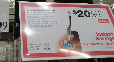 Shark Pro Steam And Spray Mop Costco Weekender